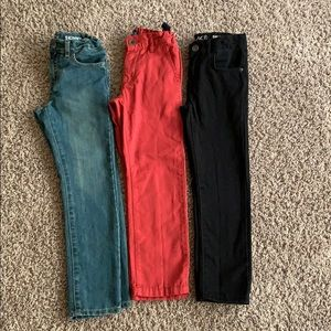 3 bundle boys size 6 Childrens Place pants/jeans